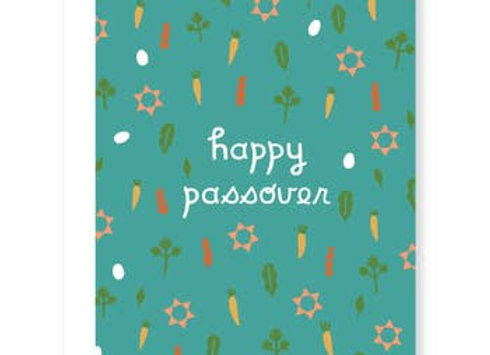 Traditional Symbol Passover Card