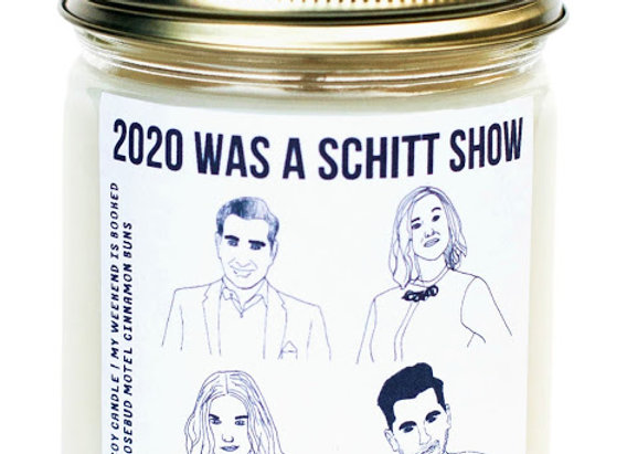 Schitt's Creek Candle The Roses 2020