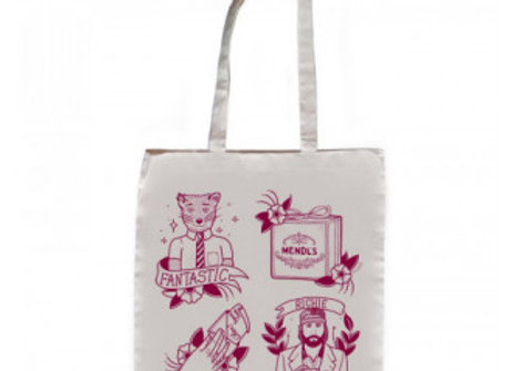Fantastic Fox Tote Bag