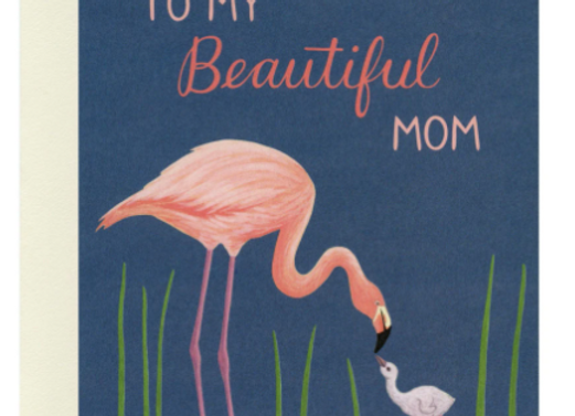 To My Beautiful Mom Mother's Day Card