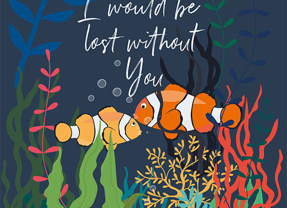 Father's Day Lost Without You Fish Card