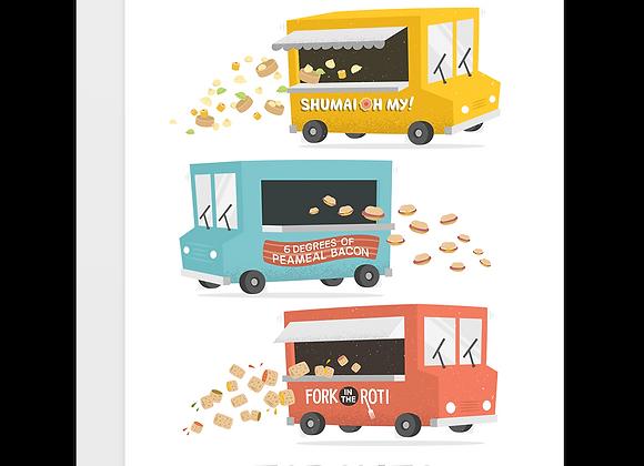 Toronto Food Truck Card