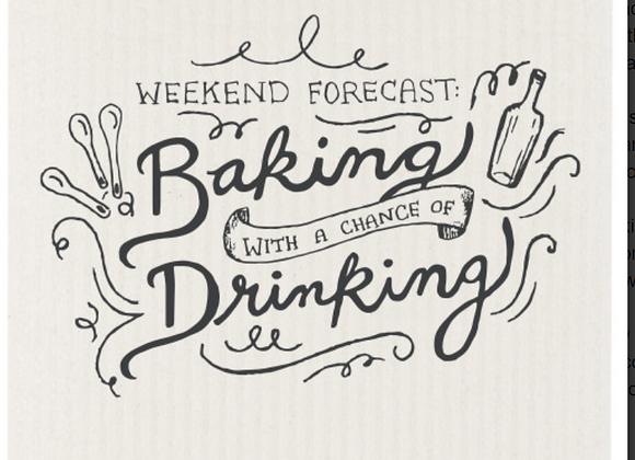 Swedish Dishcloth Weekend Forecast