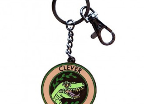 Clever Girl Keychain