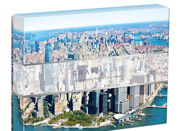 Gray Malin New York City 500 Piece Double Sided Puzzle