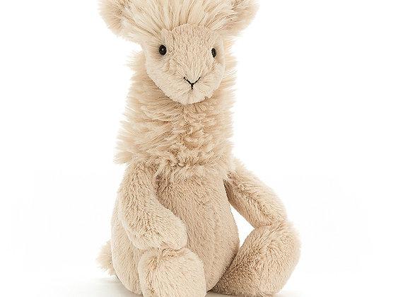 Bashful Llama Plush Toy
