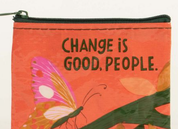Change Is Good People - Coin Purse