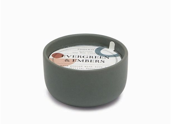 Wabi Sabi Small Evergreen & Embers 3.5oz