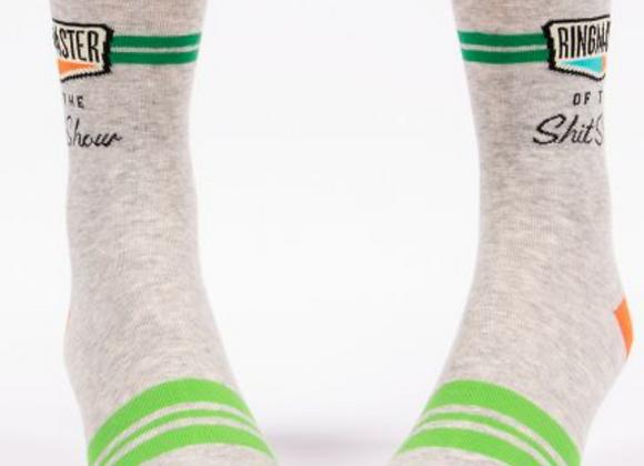 Men's Crew Socks Ringmaster Sh*t Show