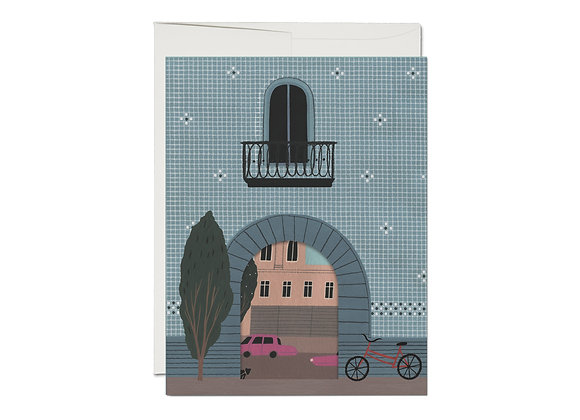 Beautiful Place French Fold Love Card