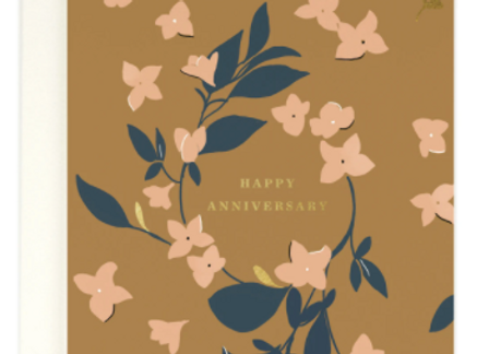 Happy Anniversary Card by Amy Heitman