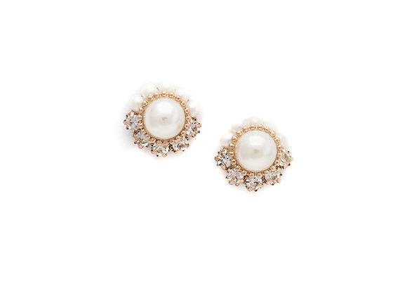 Empress Pearl Post Earrings