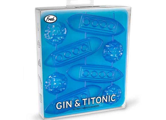 Gin & Titonic Ice tray Set