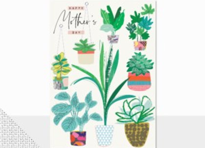 Plants Mother's Day Card