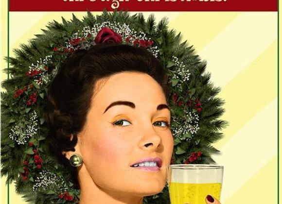 Enough Alcohol Holiday Card