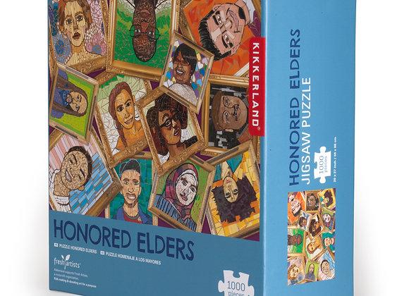 Honored Elders Puzzle - Kikkerland
