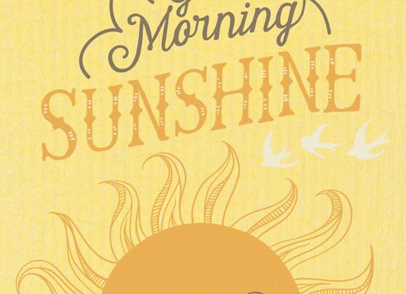 Good Morning Sun Ecologie Swedish Sponge Cloth