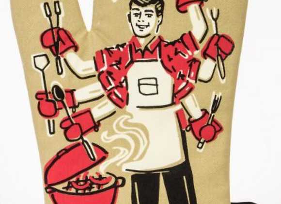 Feed You F*ckers Oven Mitt
