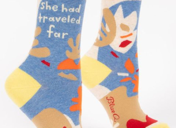 She Had Traveled Far Socks