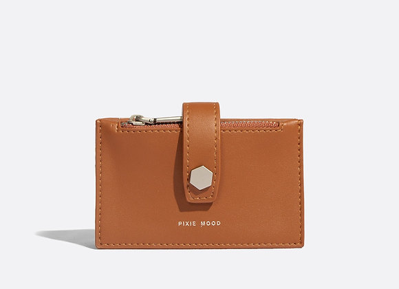 Rika Card Holder - Cognac