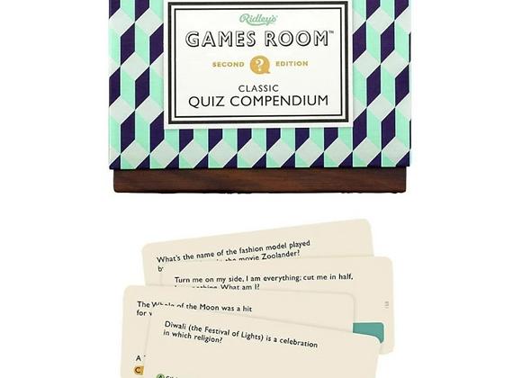 Classic Compendium Quiz Version 2 - Game