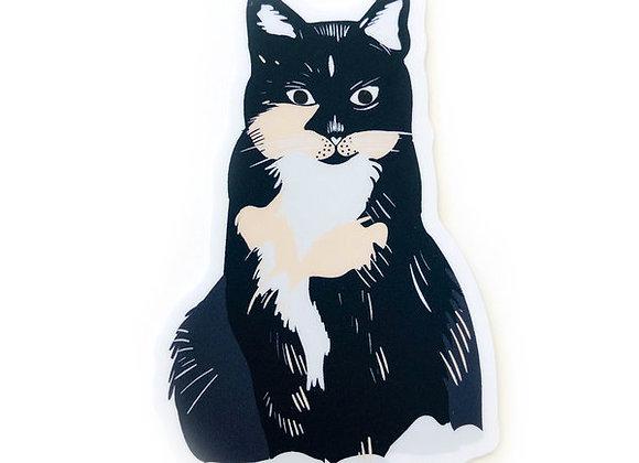 Abby Cat Sticker
