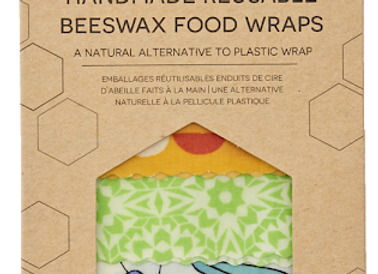 Beeswax Wrap Pack of 4 Litterless