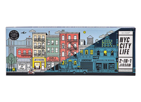 Double Sided New York - 140 pc puzzle