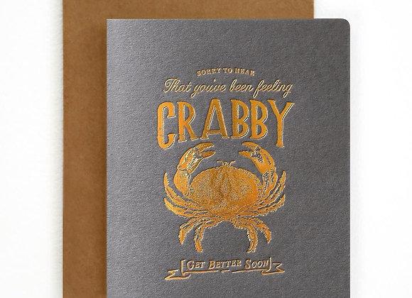 Feeling Crabby Card