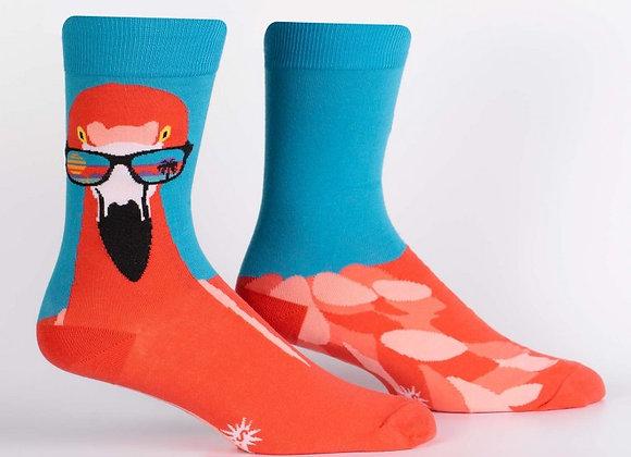 Ready To Flamingle Socks