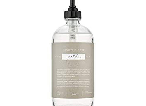 Magnolia Home Gather Glass Hand Wash by Joanna Gaines