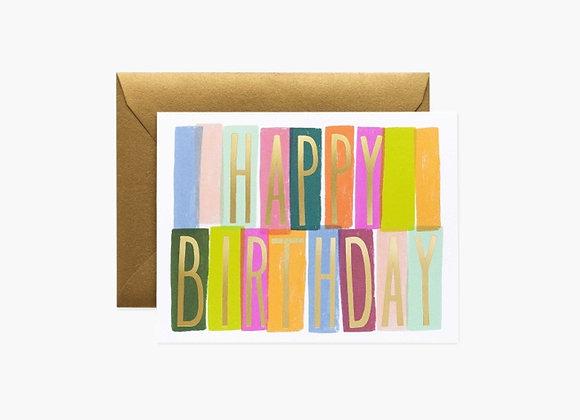 Merida Birthday Card