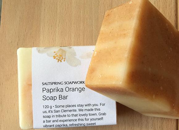 Paprika Orange Soap Bar