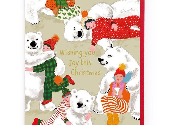 Noi Polar Bears Christmas Card
