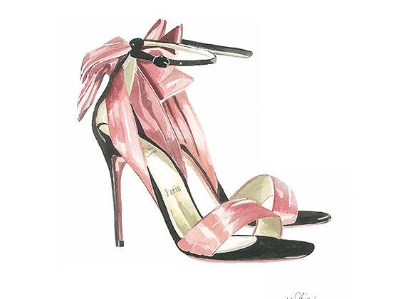 Heels Blank Card by Niki Kingsmill