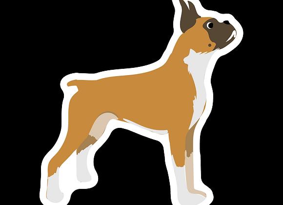 Boxer Sticker
