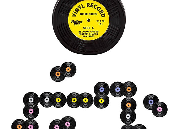 Vinyl Record Domino Games
