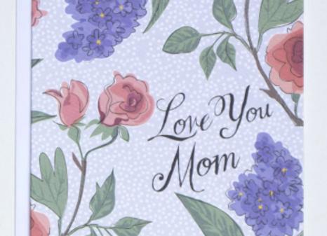 Les Fleurs Mother's Day Card