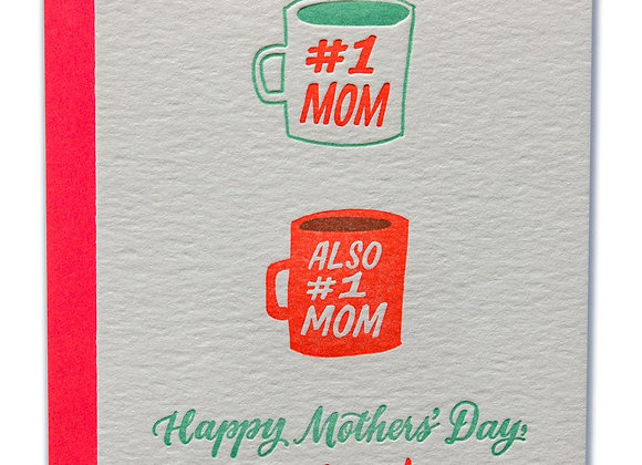 #1 Moms Happy Mother'd Day Moms