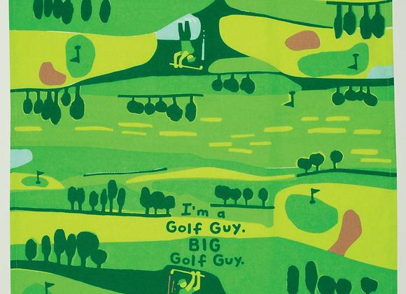 Cotton Dishtowel - I'm a golf guy