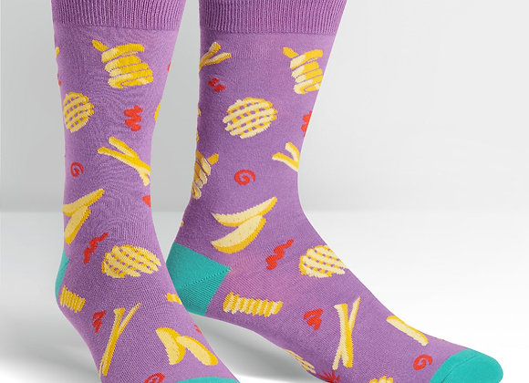 Everyday Is Fry-Day Socks