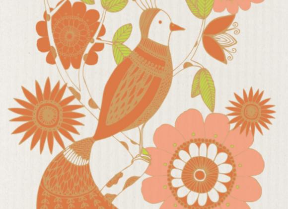 Bird of Paradise Ecologie Swedish Sponge Cloth