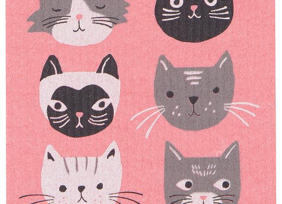 Swedish Dishcloth Cats Meow