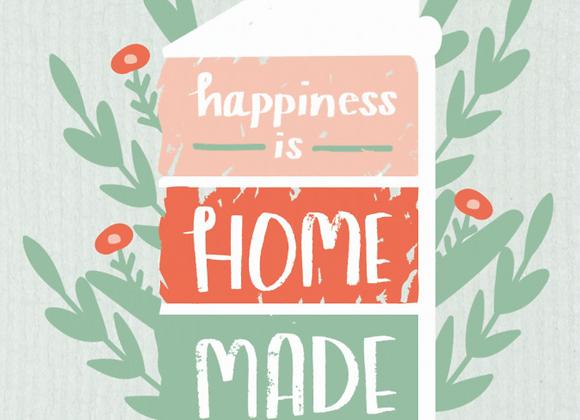 Happiness Homemade Ecologie Swedish Sponge Cloth