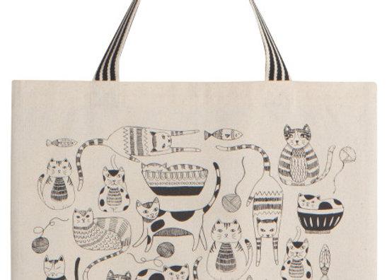Purr Pary Tote Bag
