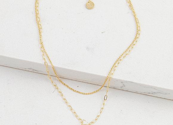 Sunburst Layered Necklace