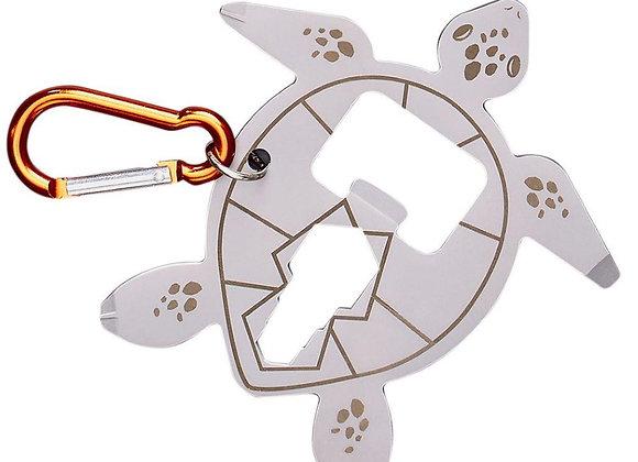 Turtle Bike Multi-Tool Keyring
