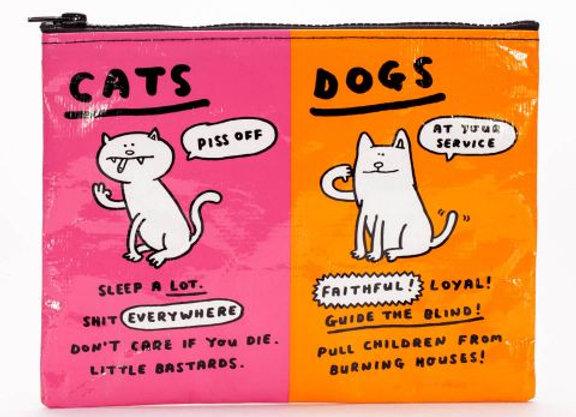 Zipper Pouch - Cats & Dog