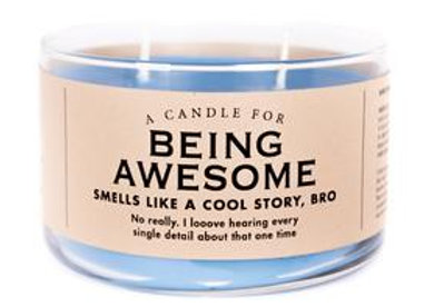 Candle For Being Awesome