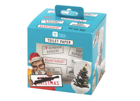 Christmas Entertainment Toilet Paper Roll